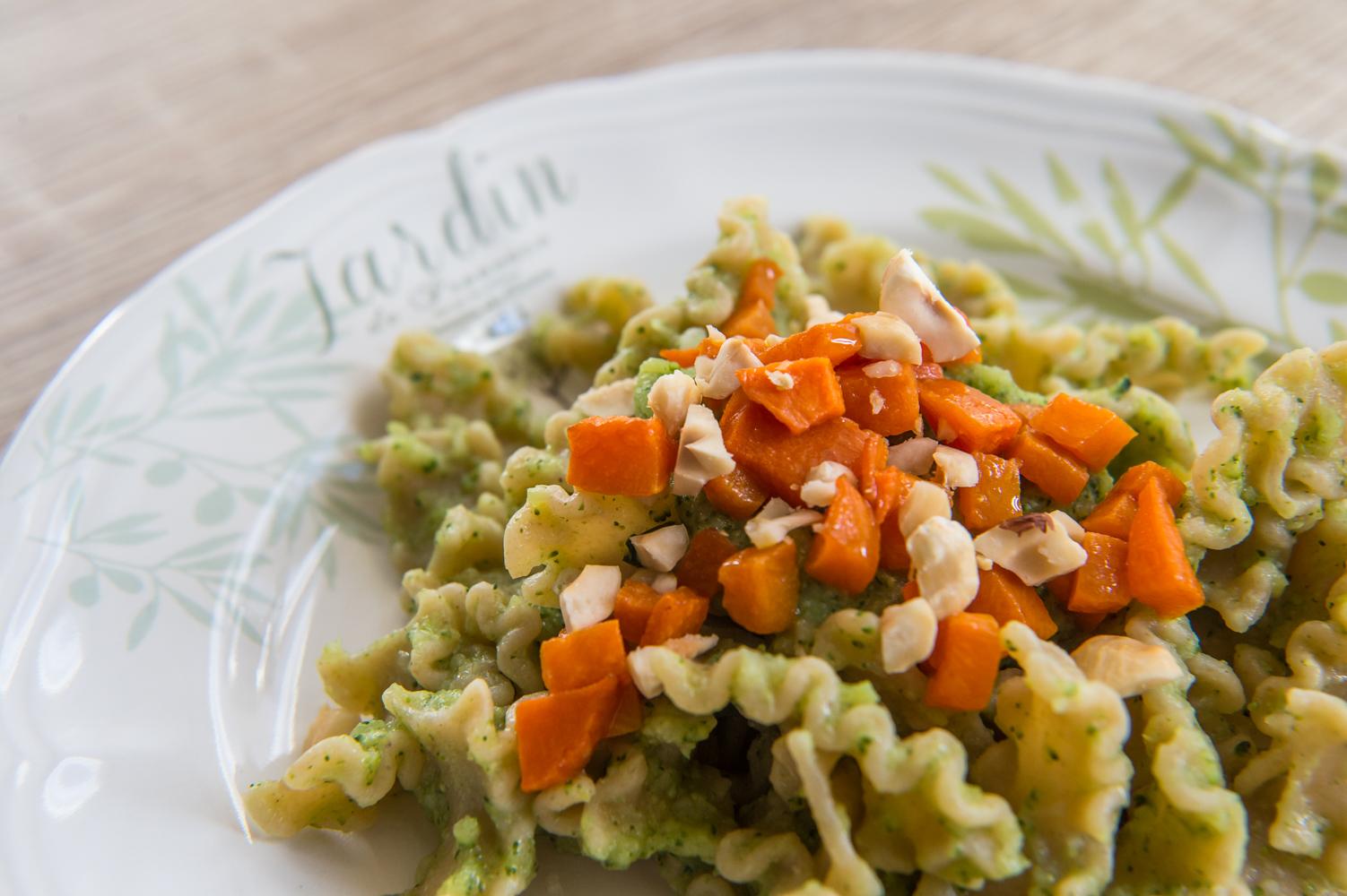 Pasta al Pesto di Broccoli e Zucca